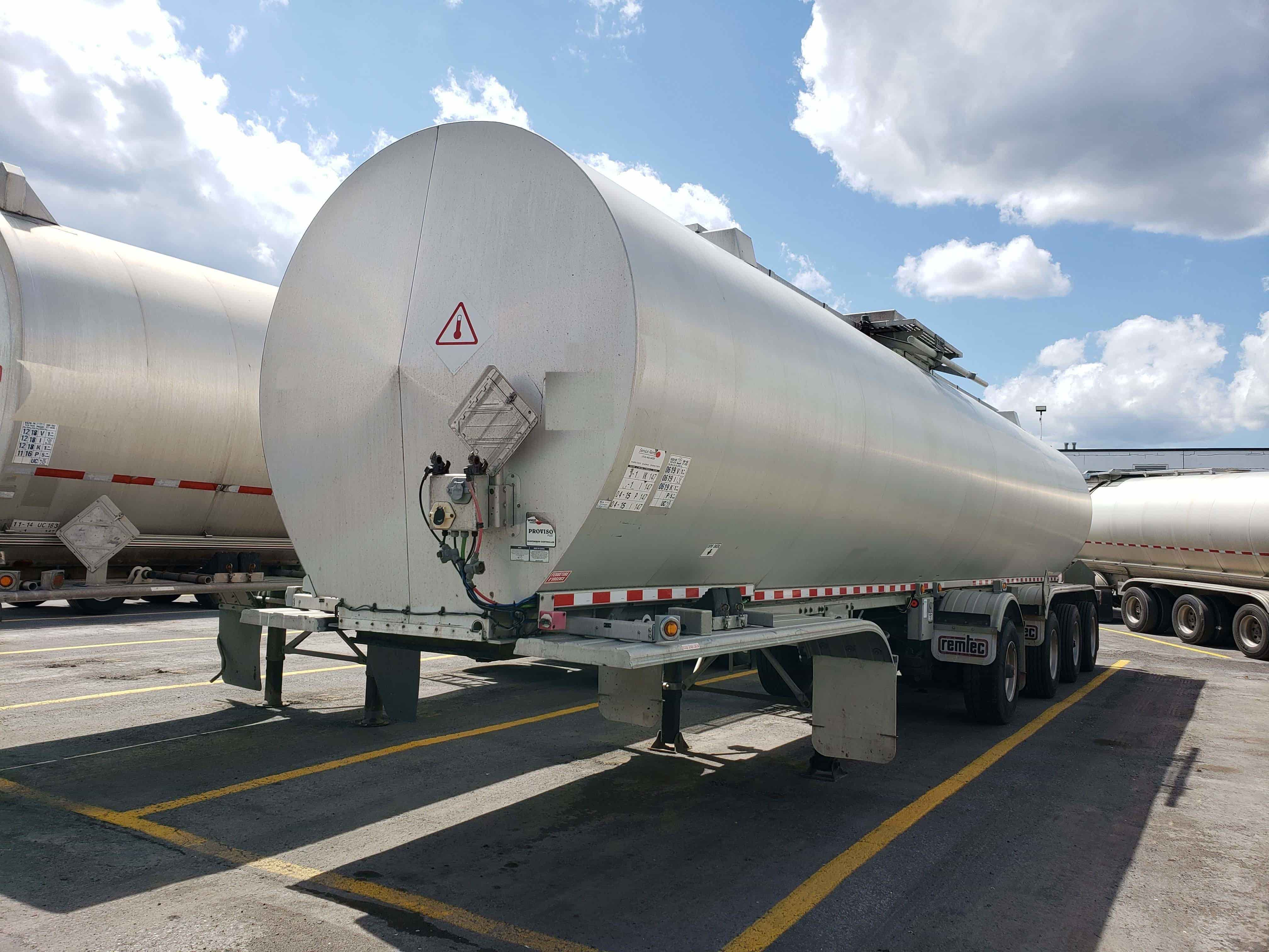 Used Hot Product Tanker Trailer